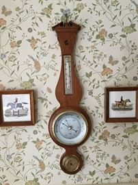 barometer and hunt pictures