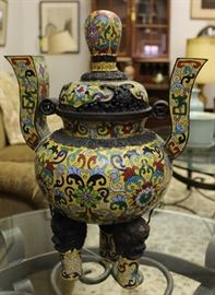 Antique Chinese Cloisonne.