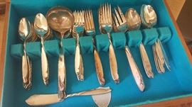 William A. Rodgers Sectional Onieda Silverware - Service of 12