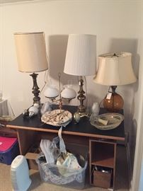 Vintage Lamps and Light Fixtures