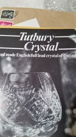 100's of pieces of Tutbury English Crystal