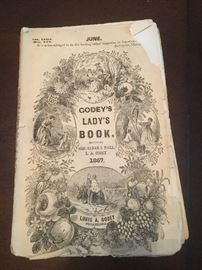 1867 Godey's Lady's Book