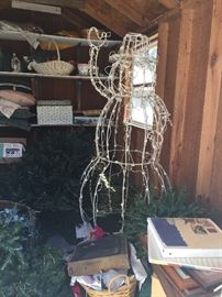 Christmas Decorations and Lawn Items