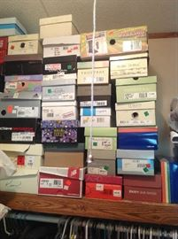 LOADS of ladies shoes - size 7-8