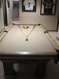 8 ft Pool Table.