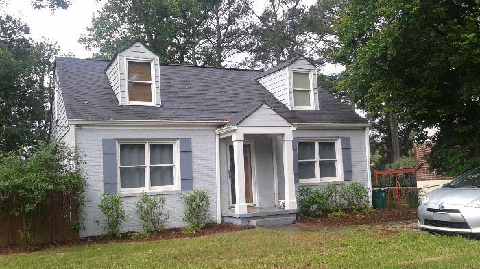 House is for sale. Realtor, John 770 313-5173.