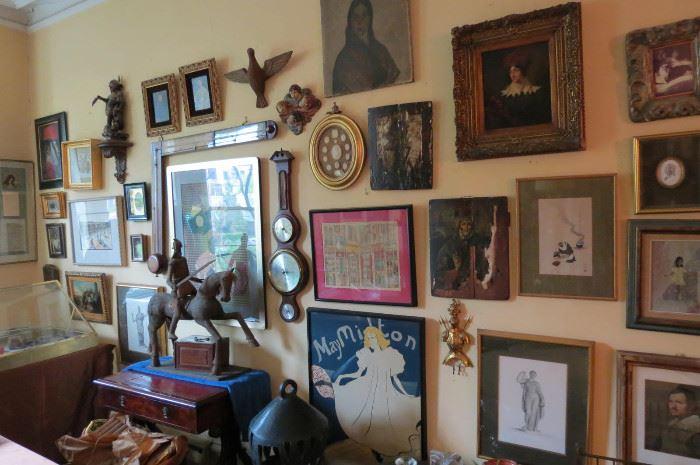 Numerous Framed Art