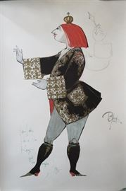 Bjorn Wiinblad Print