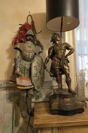 Sicilian Soldier Marionette... Waagner German Lamp