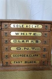 6 drawer ONT Thread Display Cabinet