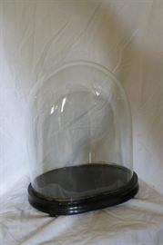 Antique Handblown Glass Dome
