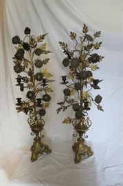 French TALL candelabras