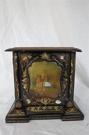 Paper Mache Victorian Box