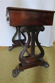 Antique Regency One Drawer Writing Desk