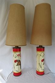 Pair of Bucciarelli Table Lamps