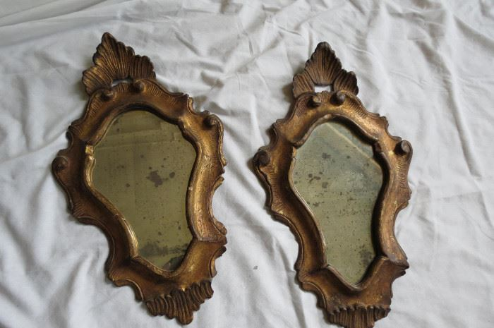 Venetian Antique Gilt Mirrors