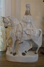 Stafforshire Man on Horse