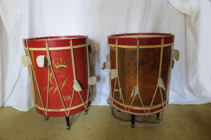 Italian Drum End Tables