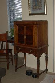 Old radio cabinet. Perfect shape.