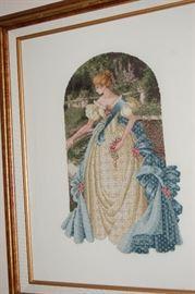 Framed Cross stitch
