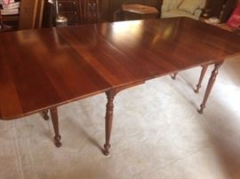 vintage banquet table
