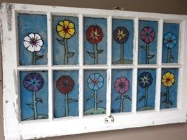 ORIGINAL WINDOW FRAME ART