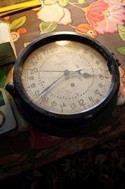 Vintage ship's clock