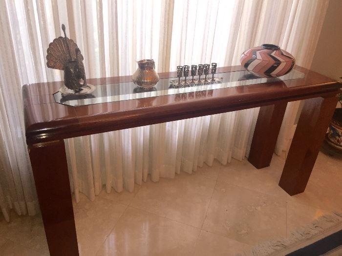 Brazilian server/foyer table