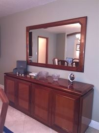 Brazilian long Buffet & mirror