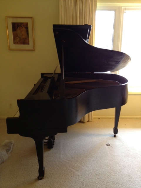 Gable and Sons baby grand piano