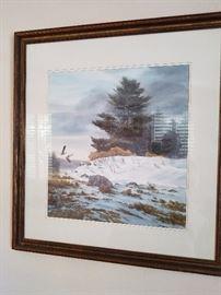 """Mitch Billis Watercolor 361/2"""" X 321/2"""""""