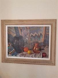 "Walter Bollendonk Oil on canvas 31"" X 25"""