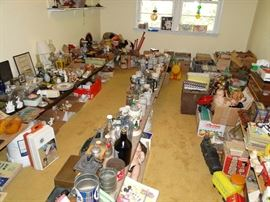 Tons of Steins, vintage toys, etc.