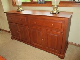Amish made Canal Dover sideboard