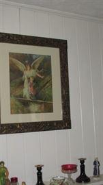 Old Guardian Angel Print