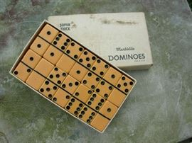 Bakelite Dominoes