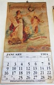 1904 Indianapolis Brewing Co. Calendar, Re-Issue