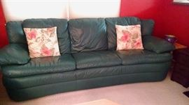 1 of 2 Leather sofas