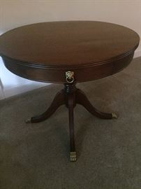 1940's Duncan Phyfe lamp table