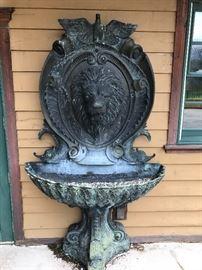 Another Fabulous Bronze Neo Classic  WAll Fountain