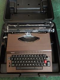 Vintage Scholar typewriter