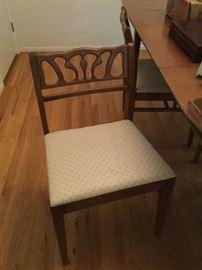 4 mid-century chairs