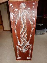 Aboriginal Medicine Man Piece