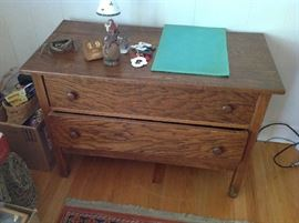Antique 2 Drawer Dresser $ 140.00