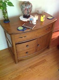 Antique Accent Cabinet $ 160.00