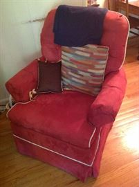 Upholstered Chair $ 60.00