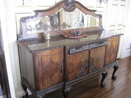 Antique Victorian Sideboard.