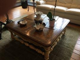 Nice wood coffee table