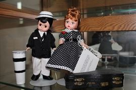 Desi and Lucy Madame Alexander dolls