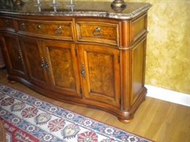 Thomasville Dining room Buffet with granite top